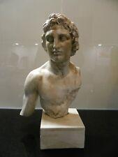 ALEXANDER der Große, 2. Jhr. v. Chr. - Berliner Museum - massive Büste, gesockel