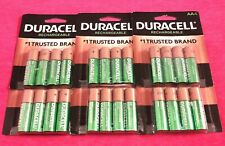 24 Duracell AA Rechrgeable Batteries Model# DX1500  2500mAh BEST PRICE ON EBAY!