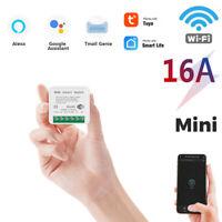 16A MINI Wifi Smart Switch Timer Wireless Switches w/ Tuya Alexa Google Home etj