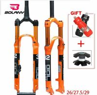 Bolany MTB Bicycle Magnesium Alloy Air Suspension Fork 26/27.5/29er Bike Fork