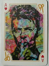David Bowie (Pop Culture) Single Swap Playing Card