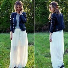Zara Polyester Maxi Full Length Skirts for Women