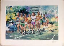 "1970's S/LE Wayland Moore ""Marathon"" Original Serigraph, 123/300, 29x39"""