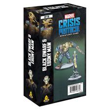 Marvel Crisis Protocol Miniatures Game Black Dwarf and Ebony Maw