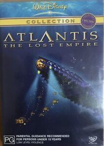 Atlantis : The Lost Empire : 2 Disc : Disney :  NEW DVD