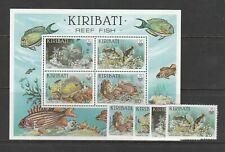 Kiribati 1985 Reef Fish, set & MS, UM/MNH SG 232/MS236