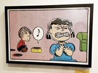 """Peanuts by Charles M Schulz CHARLIE BROWN BASEBALL /""""AAUGH!/"""" 16x20 POSTER Print"""
