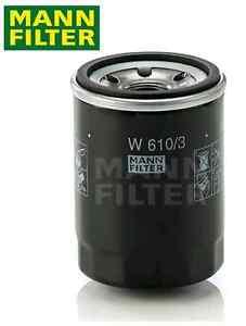 MITSUBISHI TRITON MQ & PAJERO SPORTS QE 2.4L TURBO DIESEL MANN OIL FILTER W610/3