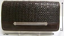*Vintage*Brighton*Clutch*Purse*Handbag*Chocolate Brown