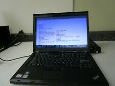 New listing Qty Lot (4) Ibm R400 ThinkPad Notebooks - As Is - Parts or Repair