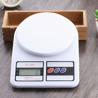 KQ_ HD_ FT- 10kg/1g Kitchen Scale Digital LCD Electronic Balance Weight Postal F