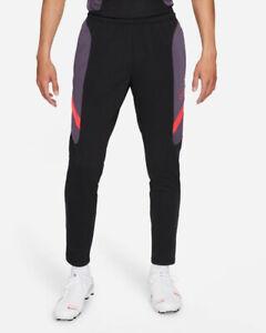 Nike Pantaloni tuta Pants Dry Football Academy III Nero Rosso 2021 Uomo