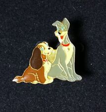 Lady and the Tramp Blue Eyes Older Disney Pin VERY RARE