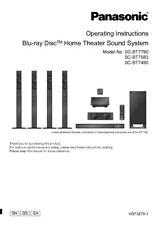 Panasonic SA-BTT490 SA-BTT583 SA-BTT790 Home Theater Instruction Manual