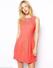 Oasis Cotton Blend Skater Dresses for Women