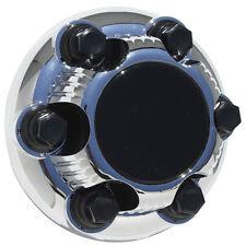 "1 Piece GMC 6 Lug CHROME Center Caps 15"" & 16"" Steel Wheel Rims Bolt On Hub Skin"