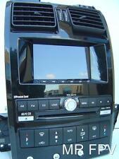BF BA GT black F6 FPV XR6 XR8 XT territory cd radio ICC acept DVD sat nav camera