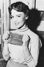 Natalie Wood with Rebel without A Cause clapper board 11x17 Mini Poster