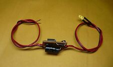 3mm YELLOW Flashing LED Beacon, Tail LIght, ETD for Lionel, MTH, Williams Trains