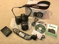 Canon 60D DSLR Camera & Tamron 18 - 270mm F 3.5 - 6.3 Piezo Drive Superzoom Lens