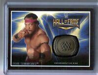 WWE Ron Simmons 2016 Topps RTWM Commemorative HOF Ring Relic Card SN 46 of 299