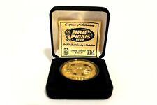 1999 Spurs NBA Finals Champions Highland Mint Coin 24kt Gold Overlay.