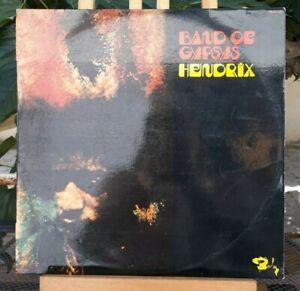 LP 33T Jimi Hendrix – Band Of Gypsys. Original Fra 1970 BIEM 0920.221 (VG+/NM)