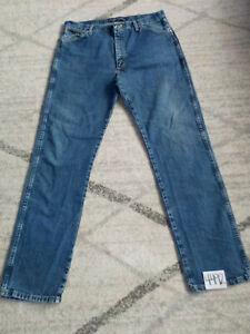 ( 38 x 36 ) Mens Wrangler Big & Tall Jeans George Strait 13MGSDS Cowboy Cut Blue