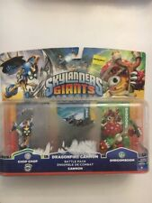 Activision Skylanders Giants Battle Pack Chop Chop Dragonfire Cannon Shroomboom