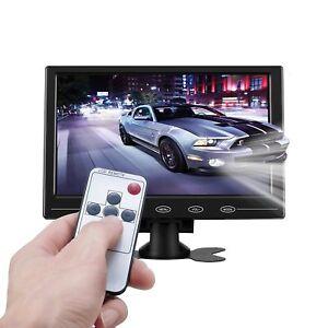 "9"" Ultra-thin LCD Monitor Touch Button AV/VGA/HDMI Input w/Speaker for Raspberry"