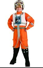 Star Wars Child's X-Wing Pilot Costume Large missing helmet chest piece