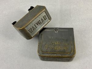 Rare Vintage Waltham Watch Co. Metal Pocket Watch Case