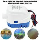 1100gph Boat Marine Automatic Submersible Auto Bilge Water Pump Float Switch Us
