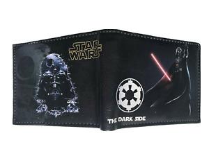 Star Wars Wallet Purse Mens Kids Darth Vader Dark Side Jedi Knight Skywalker AUS