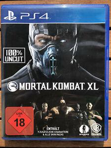 Mortal Kombat XL · Sony PlayStation · PS4 · OVP · Neuwertig · DHL Versand