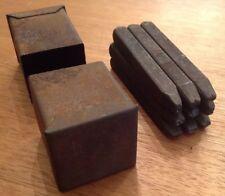Schlagzahlen 4mm für Typenschilder von Automaten , Kleingeräten und dergleichen