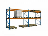 3000 kg 🔥 5,7 Meter Regalzeile Palettenregal Schwerlastregal von NEDCON