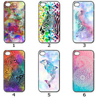 For Phone Hard Case Cover Artistic Watercolour Designer Collection 21b