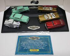 Hot Wheels Legends Barris Kustom 1:64 Die Cast Cars Set of 4 Brand New with COA!