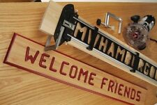 Router Sign Making Jig Template Tool DIY Art Craft Kit Wood Working Turning Pro