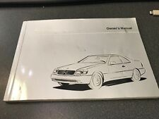 owners manual and portfolio 2007 mercedes benz CL500C