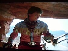 """WOW! """"BACK TO THE FUTURE 3"""" """"MARTY McFLY"""" MICHAEL J.FOX,GAL LEG SPUR BELT BUCKLE"""