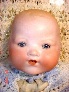 Antique AM Armand Marseille Dream Baby Bisque VTG Doll Germany Nice Facial Color