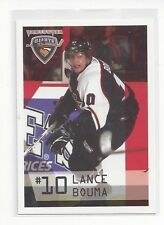 2006-07 Vancouver Giants (WHL) Lance Bouma (Chicago Blackhawks) ** FIRST CARD **