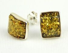 Yellow Sterling Silver Amber Fine Jewellery