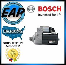 For VW Golf Jetta Passat Audi A3 Quattro BOSCH Remanufactured Starter Motor