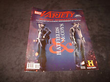 HATFIELDS & MCCOYS Emmy ad Kevin Costner as Devil Anse, Bill Paxton as Randall