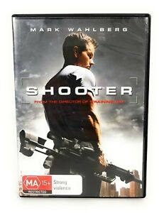 Shooter (DVD, 2007) Mark Wahlberg Region 4 Free Postage