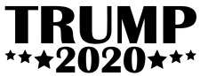 DONALD TRUMP 2020 Vinyl Decal Sticker RNC Car Wall President Campaign Election