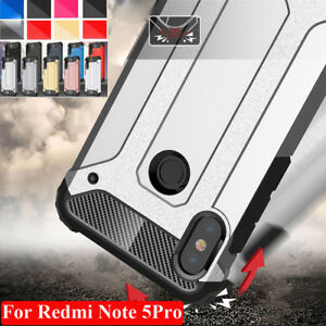 Shockproof Armor Case for Redmi Note 9 Pro Xiaomi 6/ 6X Hybird Hard Bumper Cover